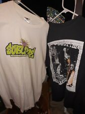 2 Vintage 90s Sublime T Shirt Second hand Smoke And What I Got both xl