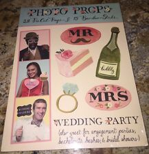 Wedding Party Photo Props - Accessory with book!! Wedding!! Wedding Party! NEW