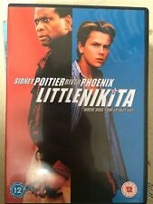 Sidney Poitier River Phoenix LITTLE NIKITA ~ 1988 Spy Thriller | Rare UK DVD