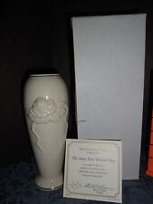 New Lenox Collection Rose Blossom Medium Vase #0911352 New In Box