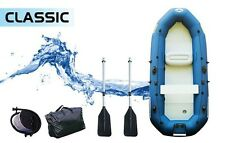 2.6 M INFLATABLE FISHING BOAT DINGHY BOAT TENDER RIB WITH MOTOR