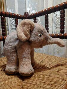 Steiff Cosy Trampy Elephant Dralon 6620,00 1959-1967 Silver Button