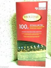 Holiday Living All Purpose Light Clips 100 Count