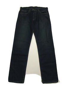 SLAB by Rick Owens MKD2002 Jeans Vintage Stright Leg Blue New HOGS Colored Wash