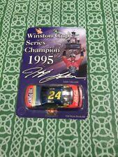 Jeff Gordon #24 Winston Cup Series Champion 1995 Toy Car NEW FREE SHIPPING