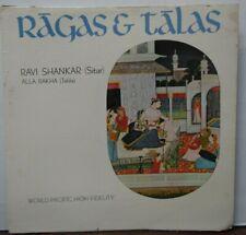 Ragas & Talas/Ravi Shankar vinyl WP-1431  020120LLE2