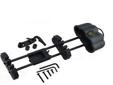 5 piezas Tiro con arco Quiver CARBONO cámara,quick candado soporte de montaje ,