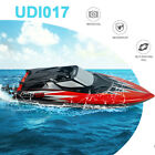 UDI017 RC Racing Boat 30KM/H Remote Control Boat with LED Light Adult Kids Gift