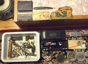 Vintage Sewing Machine Parts & Accessories - Buttonholer, OJ Pin Cushion, MORE!