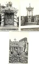 RPPC  (Lot of 5) Sacred Heart Shrine Postcards Dickeyville Wisconsin