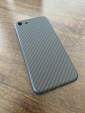 iPhone SE (2020) Real Carbon Fiber Ultra Slim Light Back Cover Case