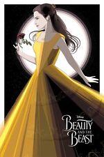 Beauty & The Beast Craig Drake Disney Art Print Emma Watson Movie Poster Mondo