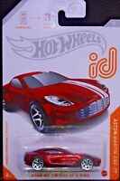 Hot wheels id Aston Martin One-77 7/8 2020 GJP01-H9C0N Tarjeta Americana