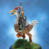 Painted RAFM Miniatures Goblin Riding Giant Bird