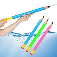 Plastic Pencil Water Guns Kids Pistol Beach Outdoor Shooter Sprinkling Toy *