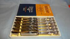 Vintage Boxed Set Of 6 Kings Pattern Dessert Knives - Bennett & Heron Set 2