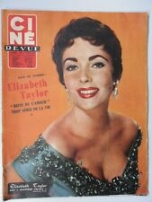 CINE-REVUE N° 6 Elizabeth TAYLOR Rita HAYWORTH Jean MARAIS AUMONT GABIN TATI