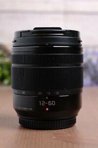 Panasonic Lumix G Vario 12-60mm f/3.5-5.6 ASPH. POWER O.I.S. Lens w/Caps