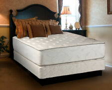 Exceptional Plush Two-Sided Full Size Mattress set with Bed Frame Included