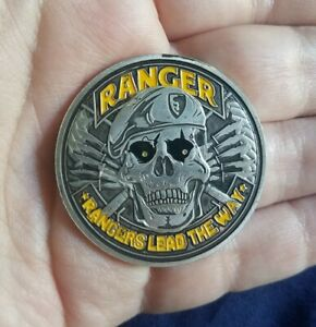 US Military Army Ranger Leads The Way Challenge Coin Collectible Gift