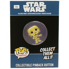 Funko Collectible Pinback Buttons - Classic Star Wars - C-3PO - New