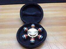 Brass Hand Spinner Fidget Spinner With Upgraded Ceramic Bearings