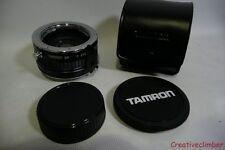 Tamron SP F sistema 2x Tele Converter minolda MD Mount + gorras y caso BBAR MC