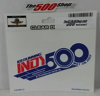 2017 Indianapolis 500 101 Running Event Collector Decal Indy Brickyard IndyCar