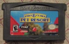 Nintendo Gameboy Advance Paws & Claws : Pet Resort (Game only)