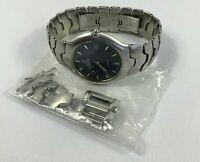 Festina Stainless Steel Men's Watch Model 6610 30m Water Resistant Black