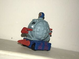 1995 TMNT Mini Mutants Turtle Transports Slam Bam Technodrome Rare micro Toy @@!