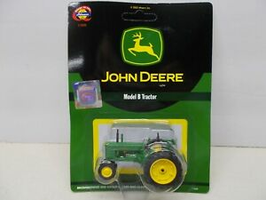 ATHEARN DIECAST-BLACK LABEL- #7750-MODEL B-JOHN DEERE TRACTOR ~LOT D~1:50 SCALE
