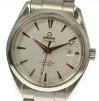 OMEGA Seamaster Aqua Terra 2503.34 Date Silver Dial Automatic Men's Watch_551697