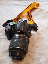 💖💖💖Nikon D D3100 14.2MP Digital SLR Camera - Black (Kit w/ VR 18-55mm strap