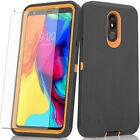 RUGGED ARMOR SHOCKPROOF Defender Phone Case Cover + BUILT IN SCREEN PROTECTOR