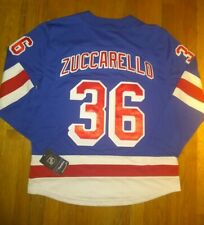 Fanatics New York Rangers Breakaway Sewn Large Jersey Mats Zuccarello