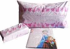 Completo letto flanella bimba Frozen Lenzuola Disney cameretta
