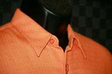 Men's Perrizo shirt NWT Medium orange short sleeve shirt
