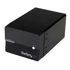 New StarTech.com Dual Bay Gigabit NAS RAID Enclosure for 3.5  SATA Hard Drives