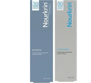 Nourkrin Shampoo + Conditioner 150ml Each for Hair Care