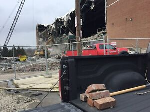 Authentic Brick From Cincinnati Gardens REMOVED DURING Demolition