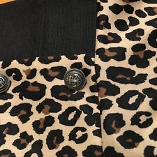 Women's Shorts Dress Leopard Print