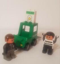 Lego Duplo Police Truck - 1 Policeman- 1 Prisoner - Educational Toys