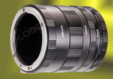Macro Extension Tube Ring Set for Fuji X Fujifilm XF XC mount X-Pro1 A1 E1 E2 M1