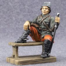 Miniature Painted Figure Russian Civil War Nestor Makhno 1/32 Toy Soldiers 54mm