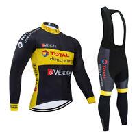 Cycling Jersey Suit Bib Set Road Bike Jersey Pant Long Sleeve Mountain Shirts
