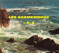 CD - Les Agamemnonz, De A à Z, France, surf music from France, Green Cookie