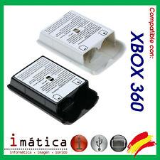 TAPA DE LA BATERIA PARA MICROSOFT XBOX 360 X-BOX PILAS CUBIERTA TRASERA MANDO