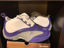 new product 17e68 86e44 Reebok The Answer 4 IV DMX 8 Allen Iverson AI Purple White Kobe Lakers PE  BS9847