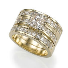 Yellow Gold Engagement Wedding Ring Sets with Diamonds eBay